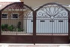Ainslie ACT Wrought iron fencing 2